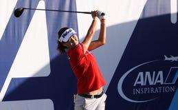 La lie d'Inhee à l'inspiration d'ANA joue au golf le tournoi 2015 photos libres de droits