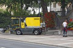 La Liechtenstein - Vaduz - service municipal Photos stock