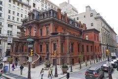 La liga de la unión de Philadelphia - edificio hermoso - PHILADELPHIA - PENNSYLVANIA - 6 de abril de 2017 Imagen de archivo libre de regalías