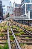 La ligne élevée parc New York City Photographie stock libre de droits