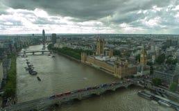 La ligne de ciel de Londres bigben Photographie stock
