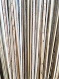 La ligne de feuille de la noix de coco font le balai Photo stock