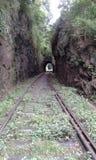 La ligne ferroviaire est en construction Le Sri Lanka photographie stock