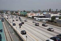 La ligne gare d'or à Pasadena Image libre de droits