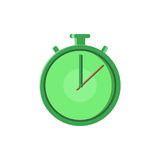 La ligne rapide de Logo Quick Delivery Service de temps icône plate pour l'application mobile, le bouton et le site Web conçoiven Images stock