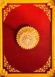 La ligne thaïlandaise décorent sur le plafond Photographie stock