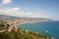 La Liguria Fotografia Stock Libera da Diritti