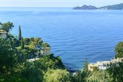 La Liguria, RIviera di Levante Fotografie Stock