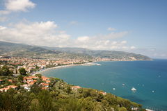la Ligurie Photo libre de droits