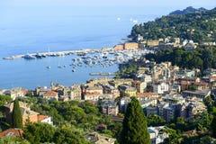 La Ligurie, la Riviera di Levante Photo libre de droits