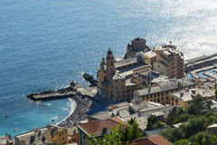 La Ligurie, la Riviera di Levante Image libre de droits