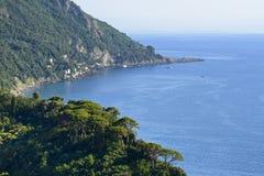 La Ligurie, la Riviera di Levante Image stock