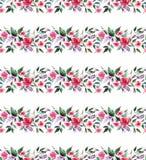 La lila color de rosa de los wildflowers herbarios rosados apacibles blandos coloridos maravillosos elegantes florales de la prim Imágenes de archivo libres de regalías