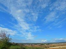 La limite du ciel Image libre de droits