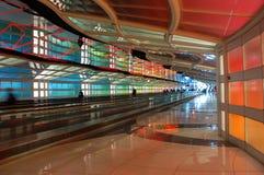 La limite du ciel, art public à l'aéroport d'O'hare de Chicago Photos libres de droits