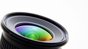 La limpieza de la lente Imagenes de archivo
