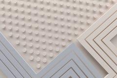 La linea crema retro d'annata del fondo del modello di colore ed il punto 3d ren Fotografia Stock