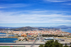 La Linea de la Concepción Town in Spanien Lizenzfreie Stockfotografie