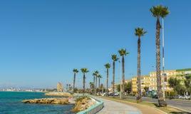 La Linea de la Concepcion and the Poniente beach Stock Photography