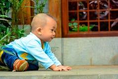 La linea di partenza dei bambini Fotografia Stock Libera da Diritti