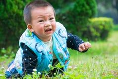La linea di partenza dei bambini Fotografie Stock Libere da Diritti