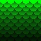 La linea strato della curva del fondo dell'onda verde della carta di sovrapposizione e colore di pendenza per fondo progetta illustrazione di stock
