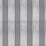 La linea verticale nera bianco grigio di torsione di rettangolo del modello ha barrato la b Fotografie Stock