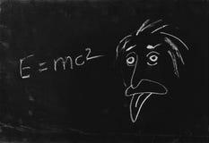 La linguetta di esposizione del genio. Fotografia Stock
