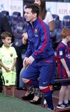 La Lionel Messis FC Barcelone V Corogne Liga - Spanien Lizenzfreie Stockfotografie