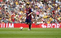 La Lionel Messis FC Barcelone V Corogne Liga - Spanien Stockfotografie