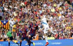 La Lionel Messis FC Barcelone V Corogne Liga - Spanien Lizenzfreies Stockfoto