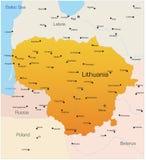 La Lituania Immagine Stock