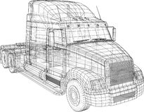 La livraison commerciale Illustration de découverte de 3d Format de vecteur d'ENV 10 d'isolement sur le blanc illustration de vecteur