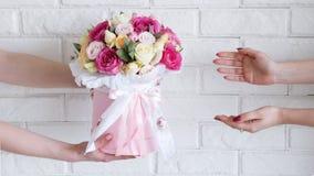La livraison d'un atelier floral Image stock