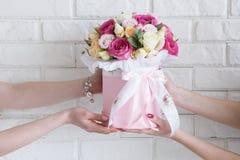 La livraison d'un atelier floristry Image stock