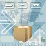 La livraison de cargaison Photos libres de droits