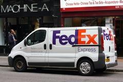 La livraison de Federal Express Photo libre de droits