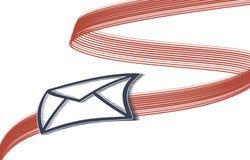 La livraison de message Image stock