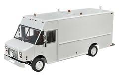 La livraison de Van car Image libre de droits