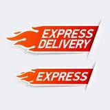 La livraison express Photos stock