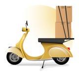 La livraison express Photo stock
