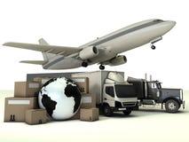 La livraison express Images stock