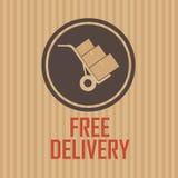 La livraison gratuite Image libre de droits