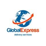 La livraison Logo Template Image stock