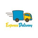 La livraison Logo Template Images stock