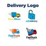 La livraison Logo Template Photographie stock