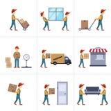 La livraison Person Freight Logistic Business Service Photos stock