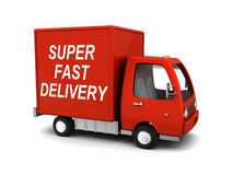 La livraison rapide superbe Image stock