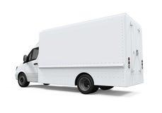 La livraison Van Isolated Image libre de droits