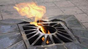 La llama eterna en Rusia metrajes